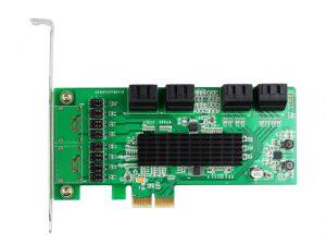 KRYSMA 8-PORT SATA 3.0 PCIE CONTROLLER CARD