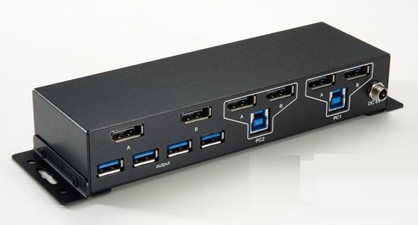 KRYM-KVM-SW-DP-USB3-2P-2